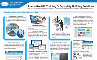 Innovative HR, Training & Corporate Communication Solution